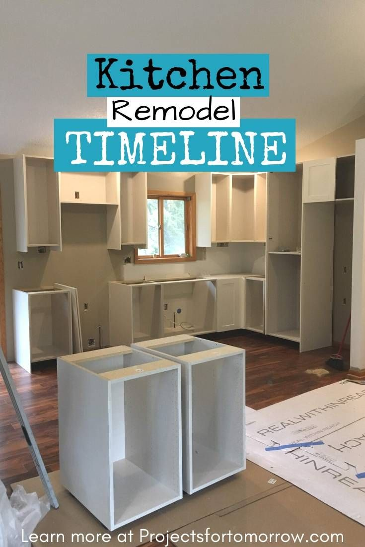 How long does a kitchen renovation take in 2020 kitchen