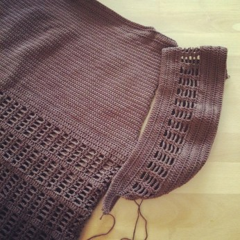 A jumper/top, don't quite know which one it is. Been sweating with the sleeves for some time now.