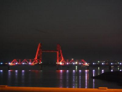 大川(昇開橋)