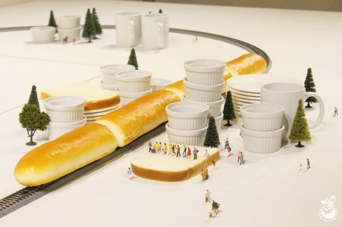 田中達也的奇幻世界微型展要去台中世貿展出囉
