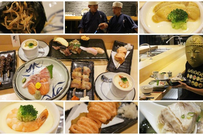 台中日本料理︳本壽司,夏日限定極品六貫套餐,生魚片握壽司串燒也可以單點吃到爽!