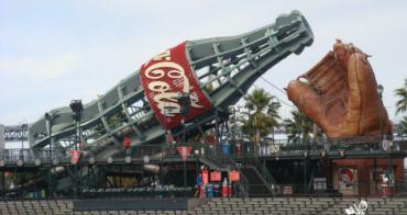 【自由時報投稿 -旅遊的滋味】舊金山AT&T Park -不能喝的可口可樂[2013/1/7刊於旅遊副刊]