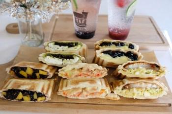 安平早午餐︳T&F手作吐司(安平店)-口味豐富多元的台南人氣熱壓吐司專門店
