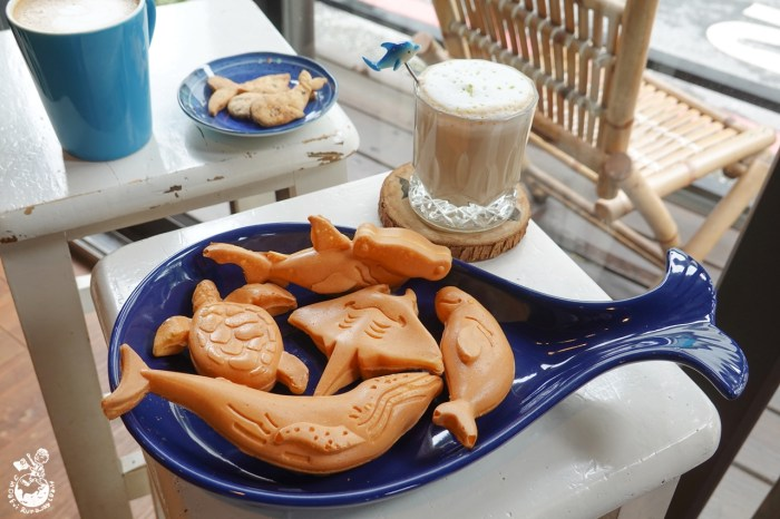 黑鯨咖啡館︳鯨魚雞蛋糕超Q!海洋和鯨豚控必來的花蓮咖啡廳