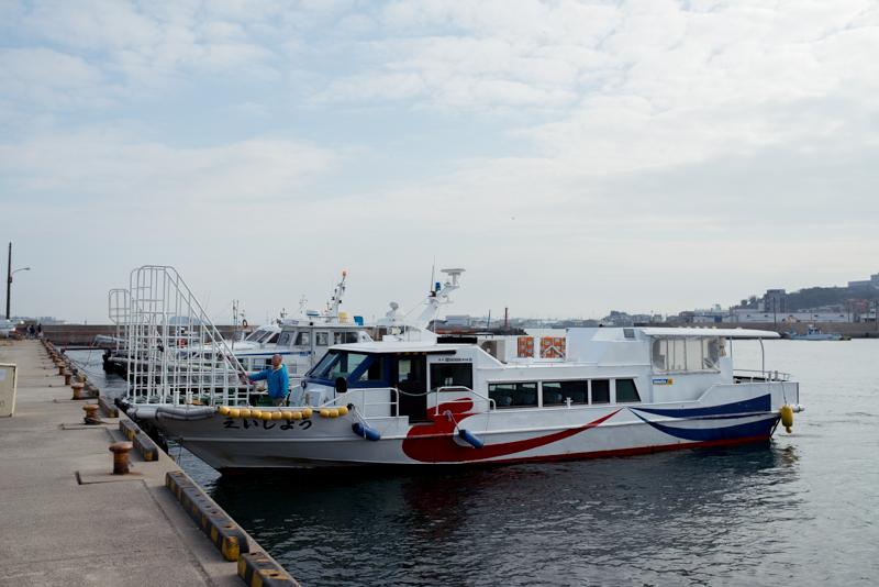 師崎(片名)から安く日間賀島へ行くには海上タクシーがおススメ。