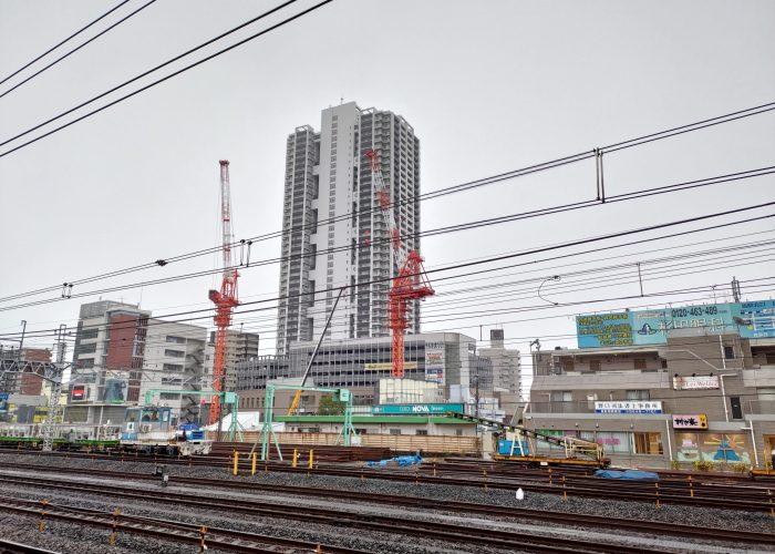 金町駅南口再開発 2020.1.18