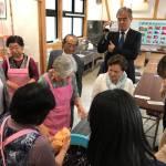 第10回 山形米山学友会総会・懇親会の前のミニイベントーGEA0053にて昼食&紅花資料館