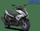 Yamaha aerox r silver