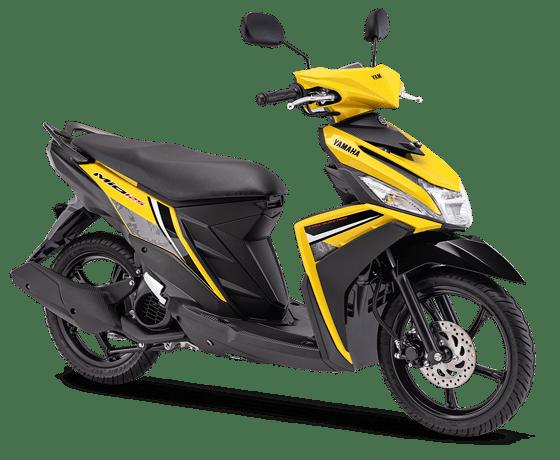 Mio M3 yellow