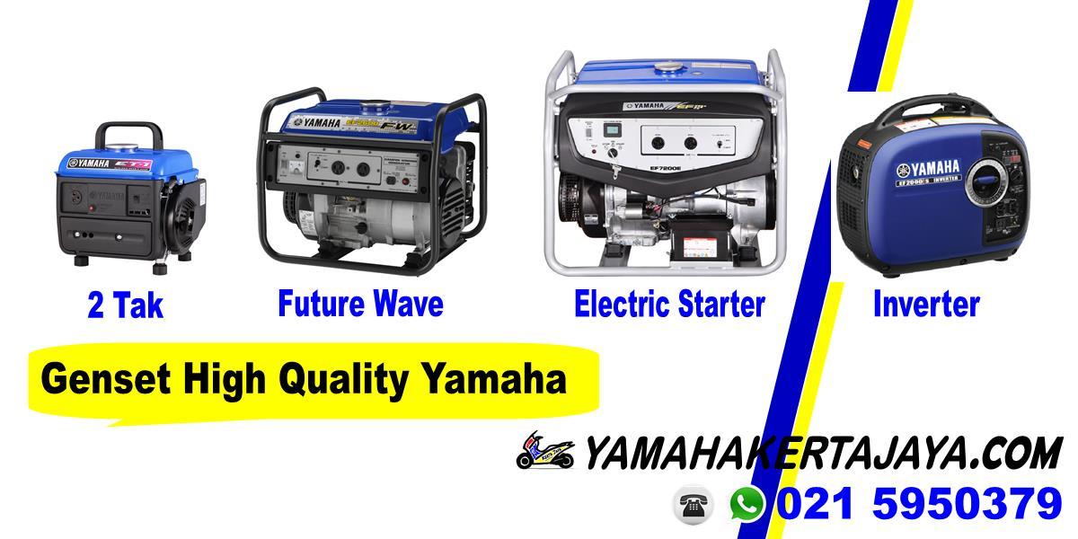 Promo genset yamaha