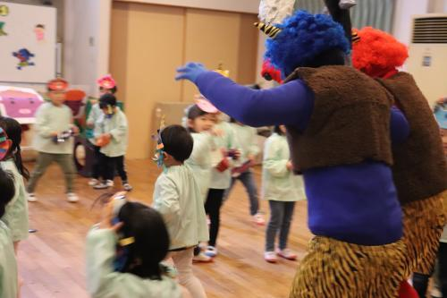 ○節分の会○【愛隣幼児学園】