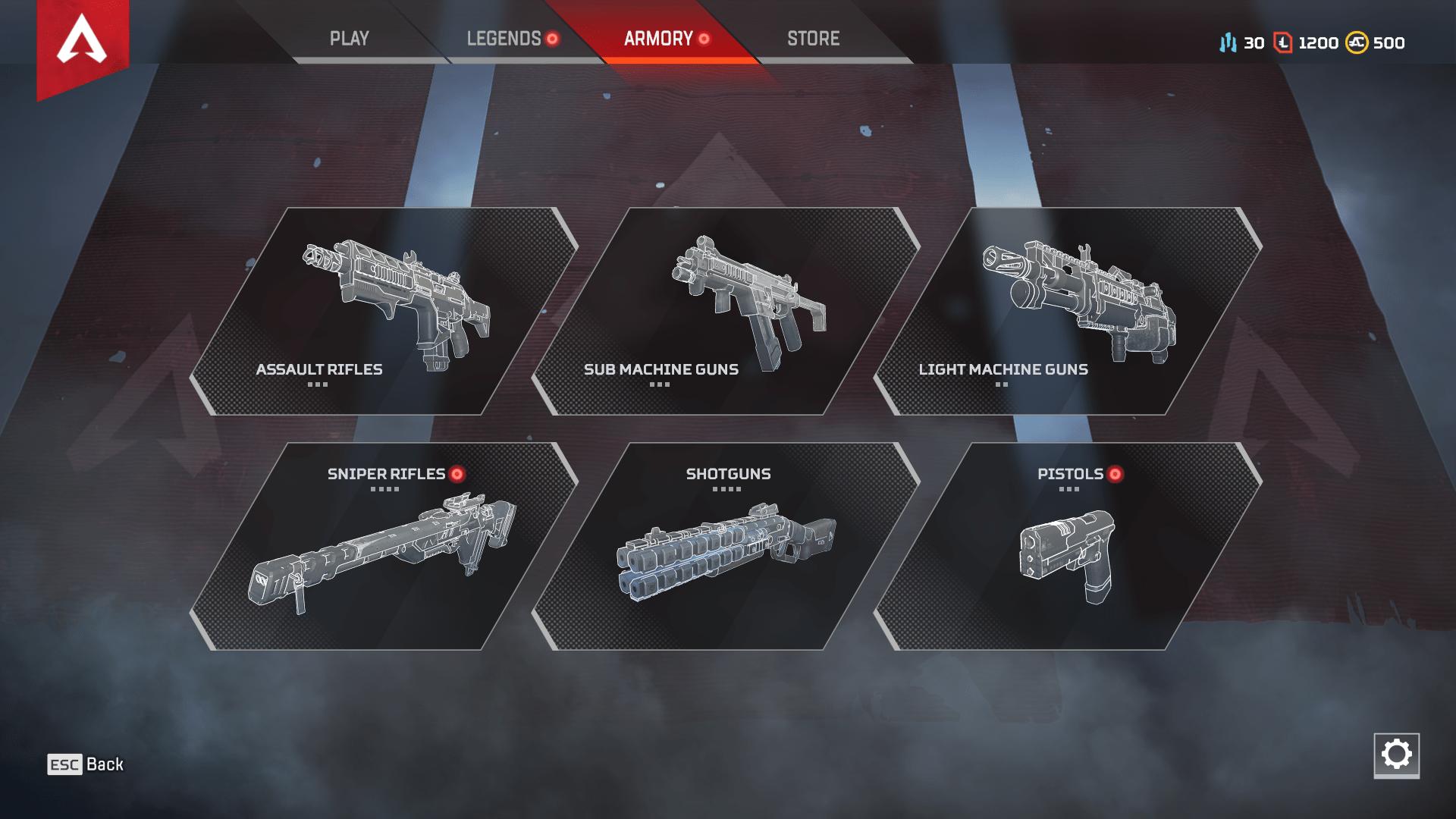 Картинки по запросу apex legends weapons