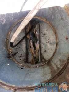 大阪府吹田市  汚水管つまり修理