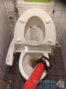 大阪府池田市 トイレつまり修理