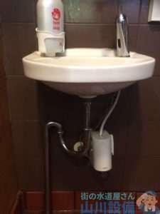 大阪府門真市  排水トラップ水漏れ修理