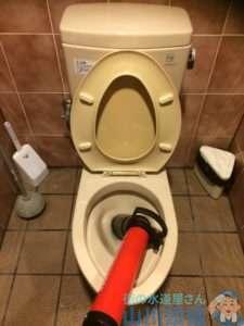 大阪府豊中市  トイレ詰まり修理