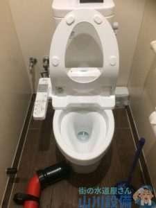 大阪府堺市西区  トイレつまり修理