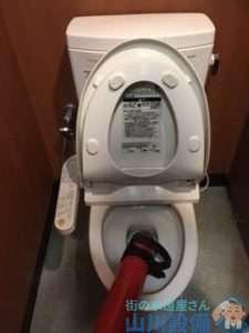 大阪府堺市中区小阪  トイレつまり修理  排水つまり修理  高圧洗浄機