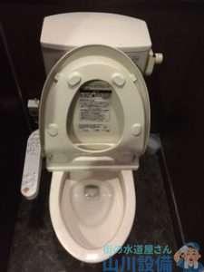 京都府京田辺市中央  トイレタンク故障修理  リモコンレバーがカラ回り