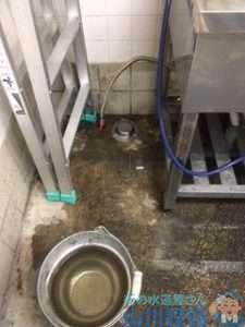 奈良県北葛城郡上牧町服部台  漏水調査  水道修理