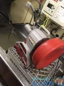大阪府大阪市中央区南船場  厨房シンク排水つまり修理  ドレンクリーナー