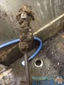 大阪府大阪市北区梅田  排水管つまり修理  ドレンクリーナー