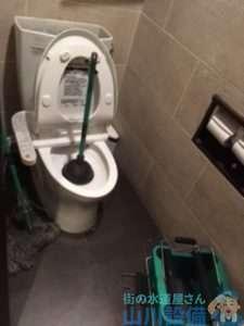 大阪府大阪市住之江区新北島 トイレつまり修理 排水管つまり修理