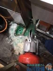 大阪府大阪市此花区梅香  調理場排水管つまり修理  ドレンクリーナー