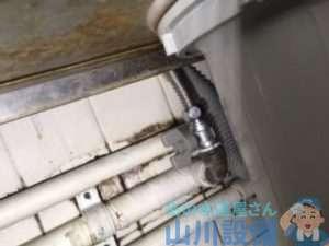 兵庫県川辺郡猪名川町白金 給湯管水漏れ修理