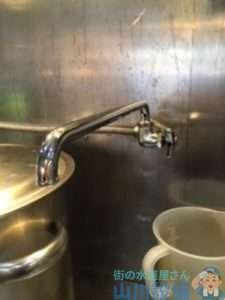 大阪府大阪市中央区農人橋  厨房蛇口水漏れ修理