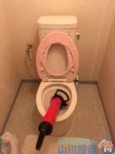 大阪府大阪市中央区内本町  トイレつまり修理