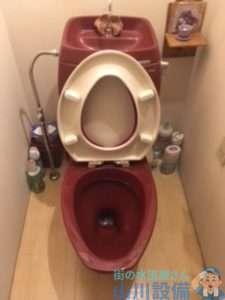 大阪府高槻市南平台  トイレつまり修理  排水管つまり修理  高圧洗浄機