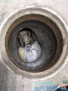 大阪府高槻市津之江町  トイレつまり修理  排水管つまり修理  高圧洗浄機