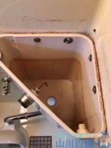 大阪府守口市南寺方東通  トイレタンク水漏れ修理