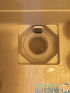 大阪府東大阪市近江堂  浴室排水管つまり修理  ドレンクリーナー