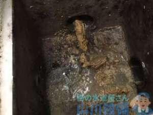 大阪市東淀川区淡路のグリストラップ排水管つまり修理は店全部やん(苦笑)