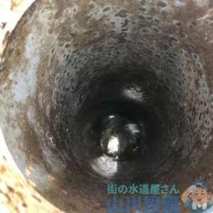 枚方市招提北町で起こった排水管の詰まりはグリストラップの詰まりが原因でした(苦笑)