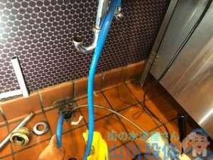 八尾市教興寺で起こったモップシンクの排水つまり