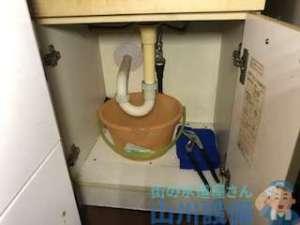 洗面所排水管つまり除去作業 原因とつまり抜きの方法