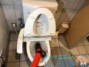 東大阪市指定給水装置工事事業者がトイレのつまりを緊急修理
