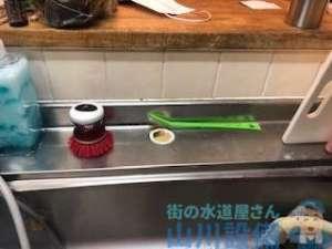 お客様が取り付けを諦めたキッチン混合水栓の取り付け