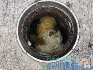 大阪府大阪市西成区南津守から『多目的トイレが詰まりラバーカップをすると女子トイレも水が動く』って依頼が舞い込んできました。   依頼者様は『排水管は繋がってるから水が動くんかなぁ~』って言ってましたが話を聞いた時点で現場を見てませんが排水管のつまりで間違いないって山川設備は思いました。   多分、まともな通管屋さんはみんな同じ事を思うと思います。
