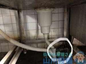 東大阪市新町で蛇口の水漏れによる交換作業