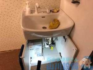 大阪府豊中市西泉丘の洗面台再設置は山川設備にお任せ下さい。