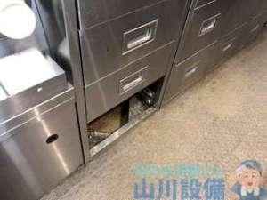 大阪府堺市中区福田の厨房水漏れは山川設備にお任せ下さい。