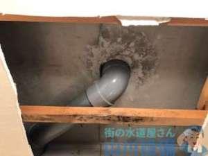 大阪府東大阪市中石切町の天井からの水漏れは山川設備にお任せ下さい。