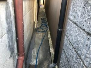 枚方市伊加賀栄町で排水管の高圧洗浄は山川設備にお任せ下さい。