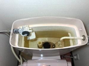 高槻市城南町でトイレタンク内の内部金具の交換は山川設備にお任せ下さい。