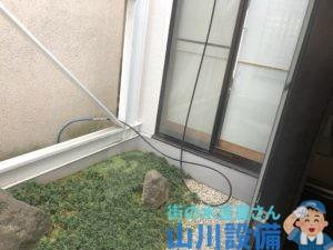 東大阪市永和で2Fの洗管作業は山川設備にお任せ下さい。