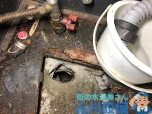 大阪市西区江戸堀で排水の流れが悪いと感じたら山川設備にお任せ下さい。